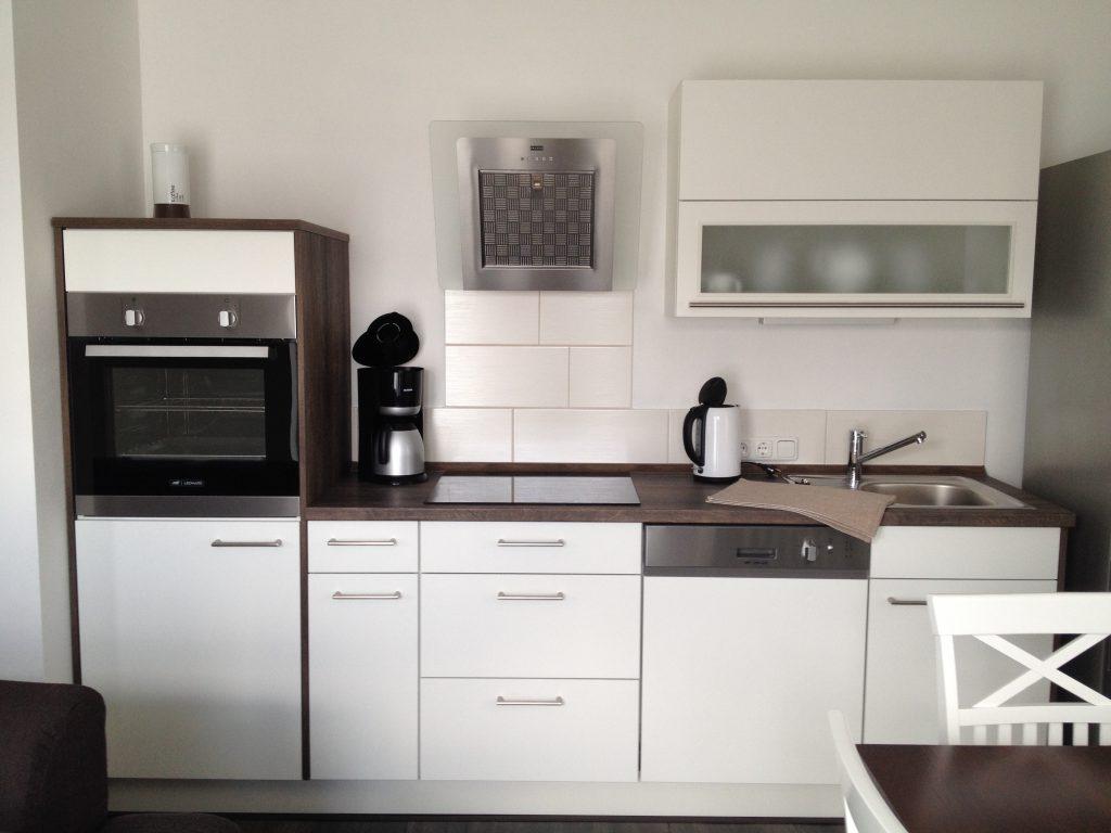 Küchenzeile im Wohnberich